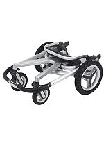 Silver Cross Surf 2 Seat Unit / Chassis & Carrycot.