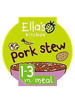 Ella's Kitchen Pork Stew with Bursting with Beans 1+ 200g