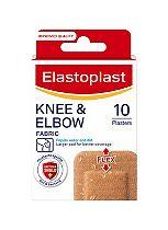 Elastoplast Knee & Elbow Fabric - 10 Plasters