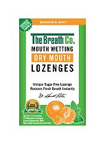 The Breath Co. Fresh Breath Dry Mouth Lozenges Mandarin Mint 72pc