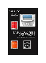 Nails Inc Electronic Foot File Kit - Powered by MICRO Pedi
