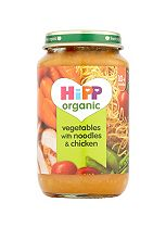 HiPP Organic Vegetables with Noodles and Chicken 10+ Months 220g