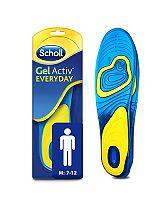 Scholl Gel Everyday Insoles - Men