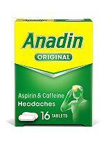 Anadin Original Caplets - 16