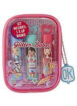 Glitter Babes Lovely Lip Balm Trio