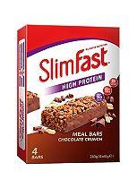 Slim-Fast Meal Bars Chocolate Crunch 4 x 60g
