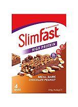 Slim-Fast Meal Bars Chocolate Peanut - 4 bars