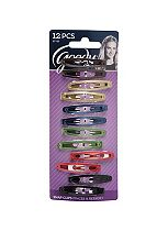 Goody Classics Metallic Stretch Oval Contour Clips