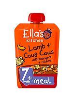 Ella's Kitchen Zingy Lamb + Cous Cous with Mangoes + Raisins from 7 Months 130g
