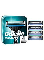 Gillette MACH3 Men's Razor Blades 4 Pack