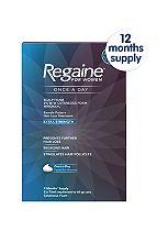 Regaine for Women Once a Day Scalp Foam 5% w/w Cutaneous Foam - 12 Months' Supply
