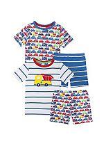 Mini Club Boys Short Pyjamas Cars 2 Pack