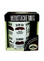 Ginger Fox Moustache Club Mug