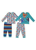 Mini Club Boys Pyjamas Monster 2 Pack