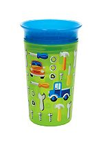 Munchkin 9oz Miracle® 360° Deco Sippy Cup Green Car