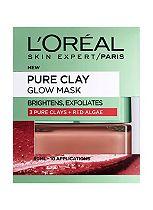 L'Oreal Paris Pure Clay Glow Mask 50ml