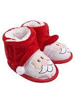 Mini Club Baby Christmas Booties