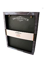 Shoreditch Kitchen slate menu board with chalk