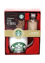 Starbucks Sprinkler and Mug