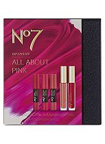 No7 Lip Library All About That Pink