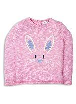 Mini Club Girls Long Sleeve Top Rabbit Pink