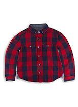 Mini Club Boys Check Shirt Red