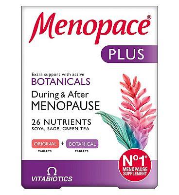 Menopace Plus Tablets - 2 x 28