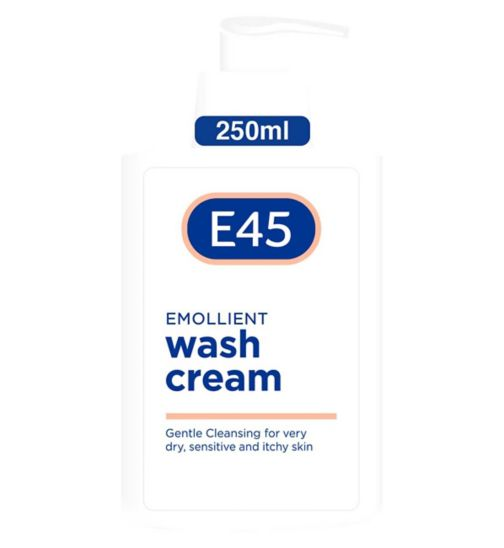 E45 Wash Cream for Dry & Itchy Skin - 250ml