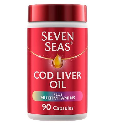 Seven Seas One-A-Day Pure Cod Liver Oil plus Multivitamins - 90 capsules