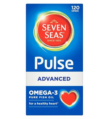 Pulse Advanced Omega-3 Pure Fish Oils with Vitamin E - 120 capsules