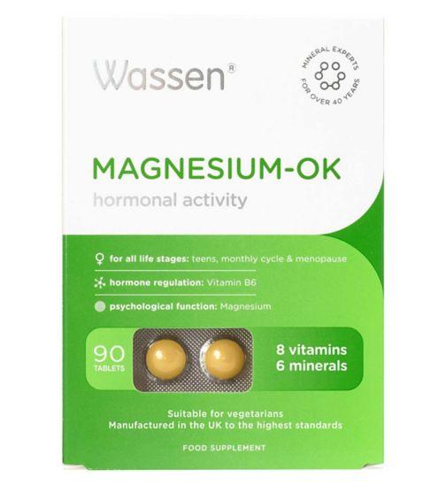 Wassen Magnesium - 90 Tablets