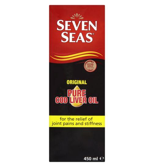 Seven Seas Pure Cod Liver Oil - 450ml