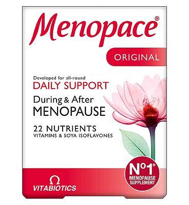 Vitabiotics Menopace 30 Tablets