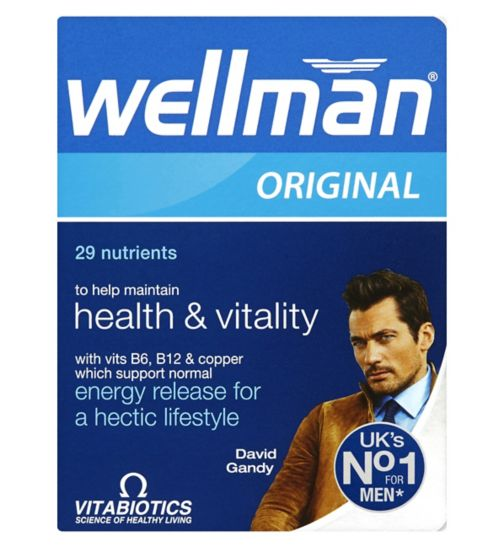 Vitabiotics Wellman Original Tablets - 30