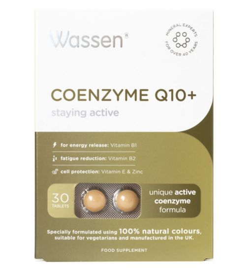 Wassen We Support Staying Active 30 Tablets
