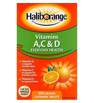 Haliborange AC D Tablets - 120