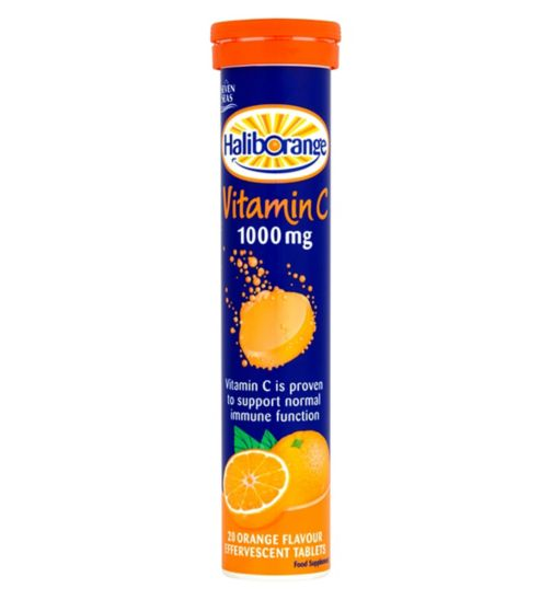 Haliborange Vitamin C 1000mg Effervescent Tablets - 20