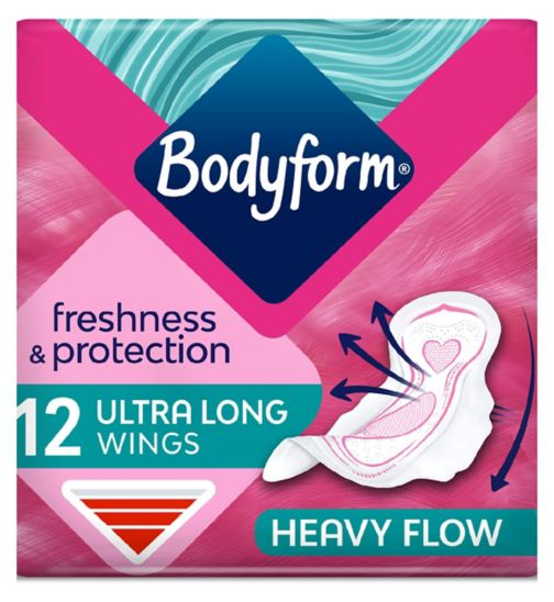 Bodyform Ultra Towels Long Wings x12