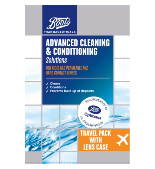 Boots Advanced Cleaning & Conditioning Solutions - Travel Pack with Lens Case