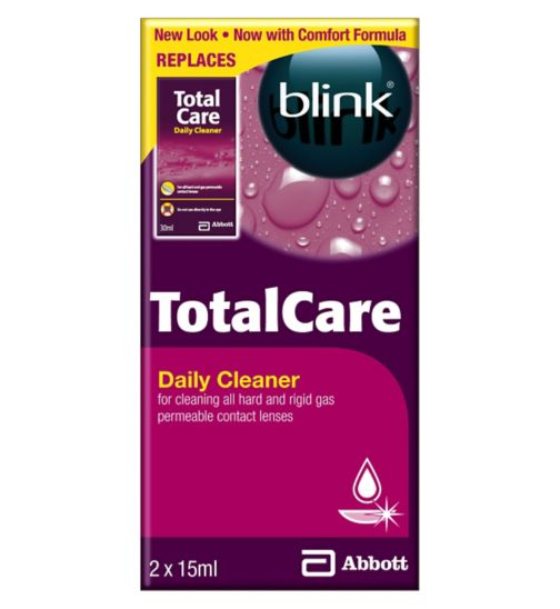 Blink TotalCare Daily Cleaner - 2 x 15ml