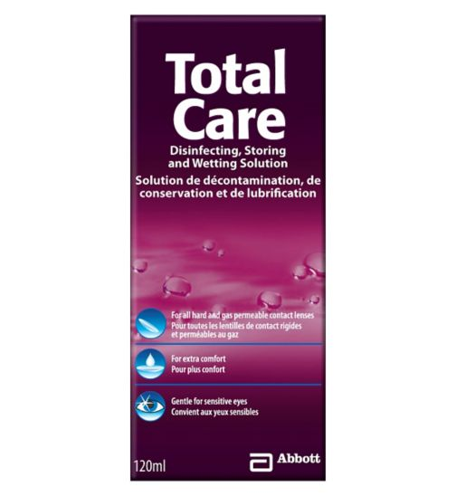 TotalCare Disinfecting, Storing and Wetting Solution - 120ml</p>