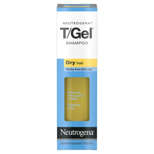 Neutrogena T/Gel Anti-Dandruff Dermatological Shampoo for Dry Hair