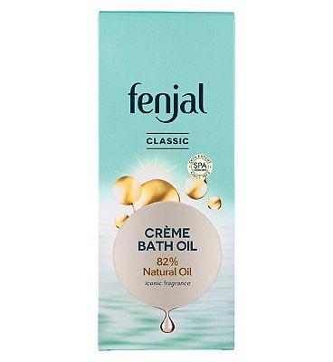 Fenjal Classic Luxury Creme Bath Oil 200ml