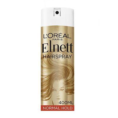 L'Oral Paris Elnett Satin Hairspray Normal Strength 400ml
