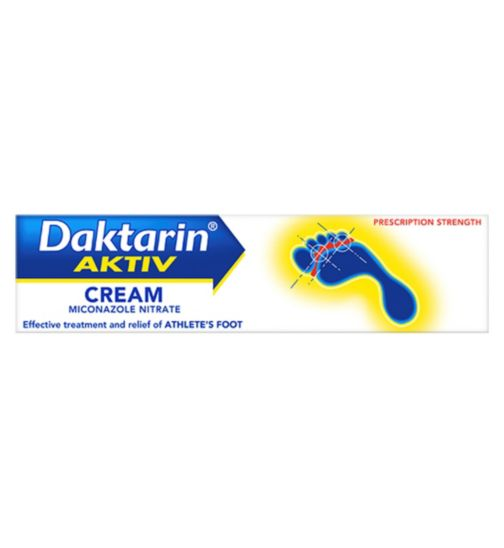 <p>Daktarin Athlete's Foot Cream - 30g</p>