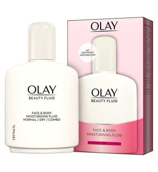 Olay Pink Beauty Fluid Moisturiser 200ml Limited Edition