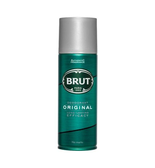 <p>Brut Original Deodorant</p>