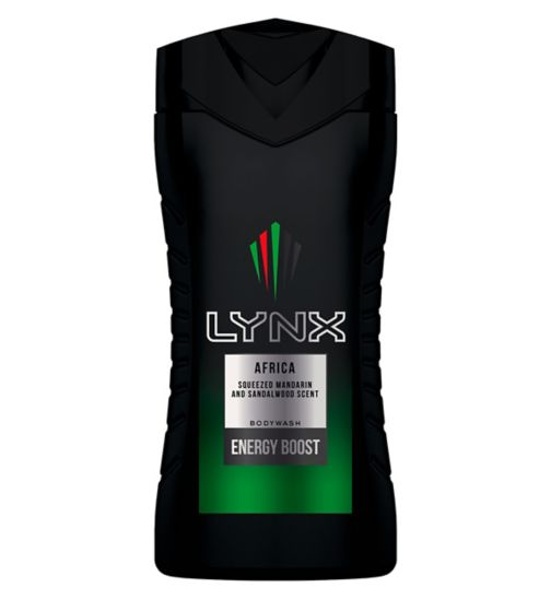 Lynx Africa Shower Gel 250ml