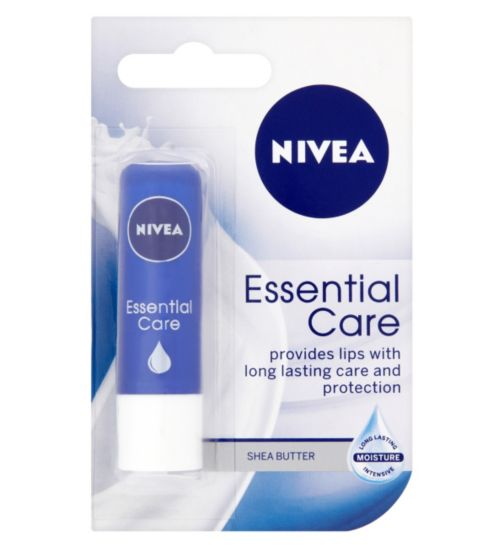 Nivea Essential Care Lip Balm Jojoba Oil and Shea Butter 4.8g
