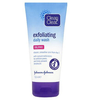 Clean Clear Exfoliating Daily Wash 150ml